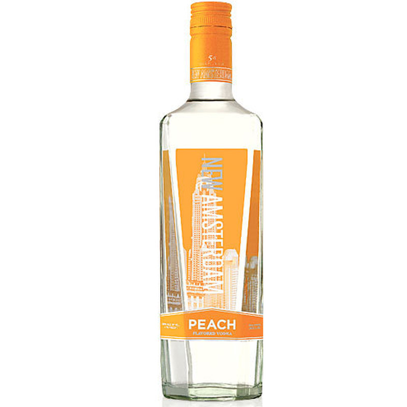 NEW AMSTERDAM VODKA FLV PEACH 750ml