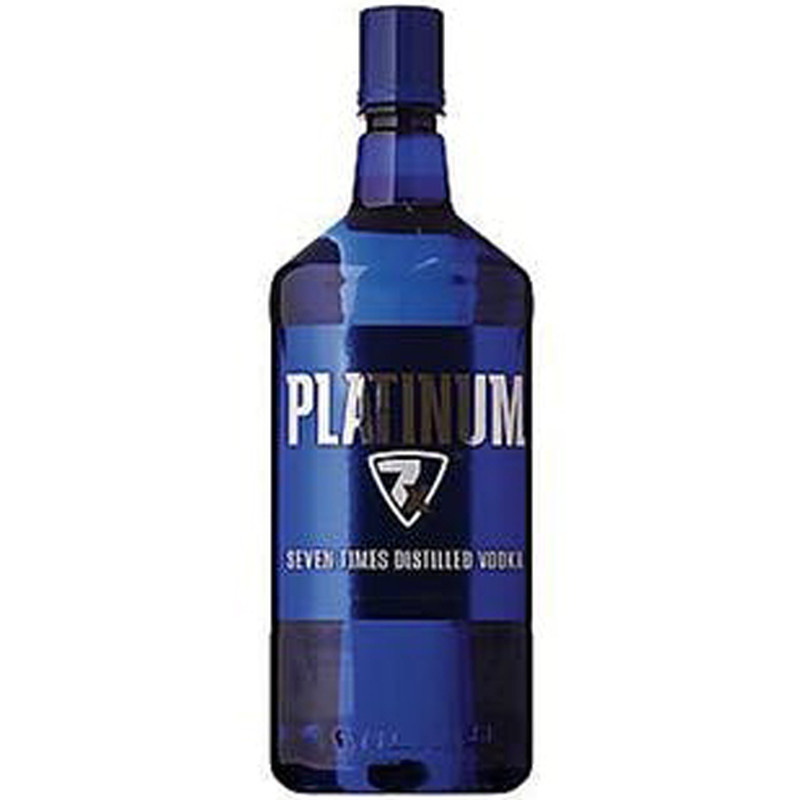 PLATINUM VODKA 80 PROOF 750ML