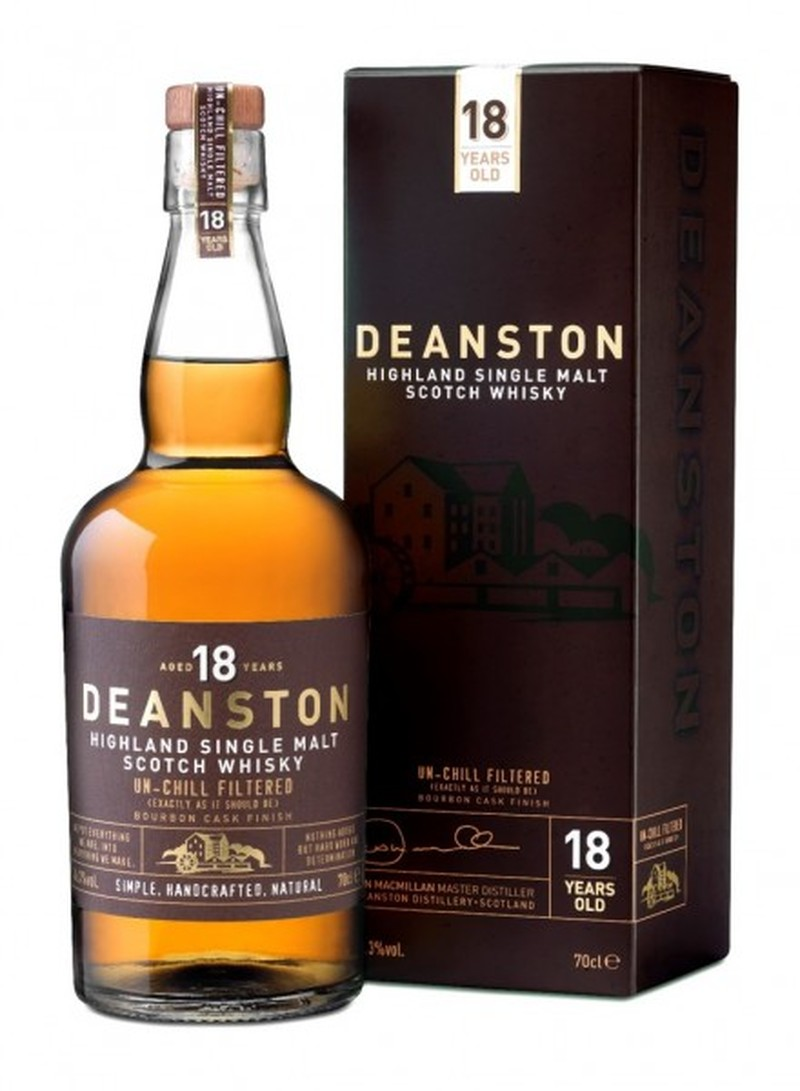 DEANSTON AGED 18 YEARS 750ML