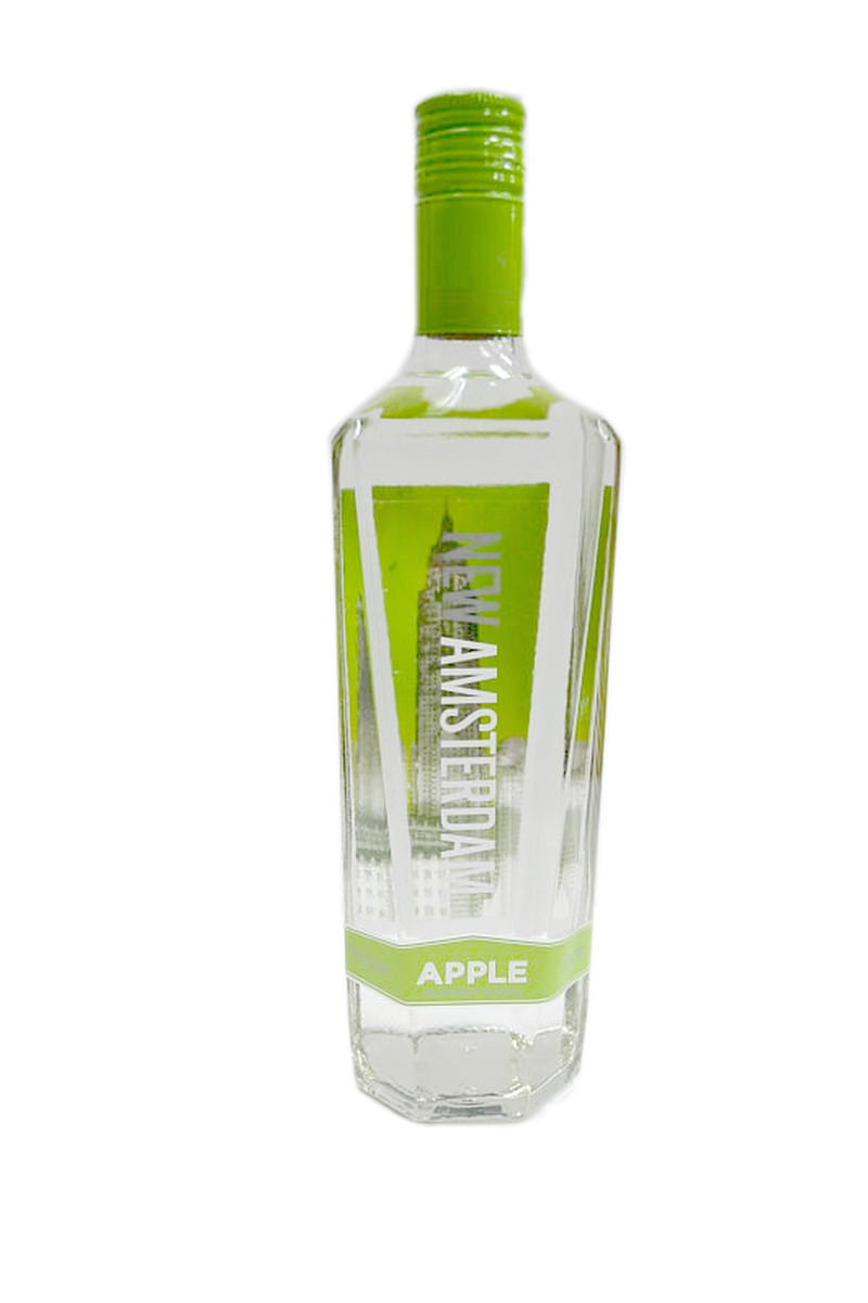 NEW AMSTERDAM VODKA FLV APPLE 750ml