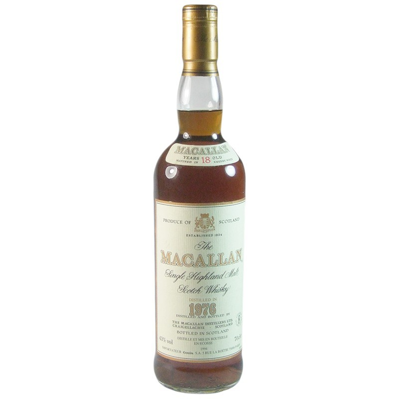 THE MACALLAN 1976 18 YRS 750ML
