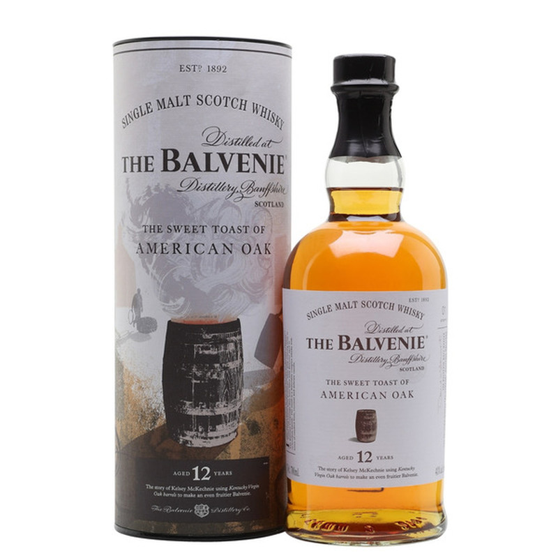 THE BALVENIE THE SWEET TOAST OF AMERICAN OAK 750ML
