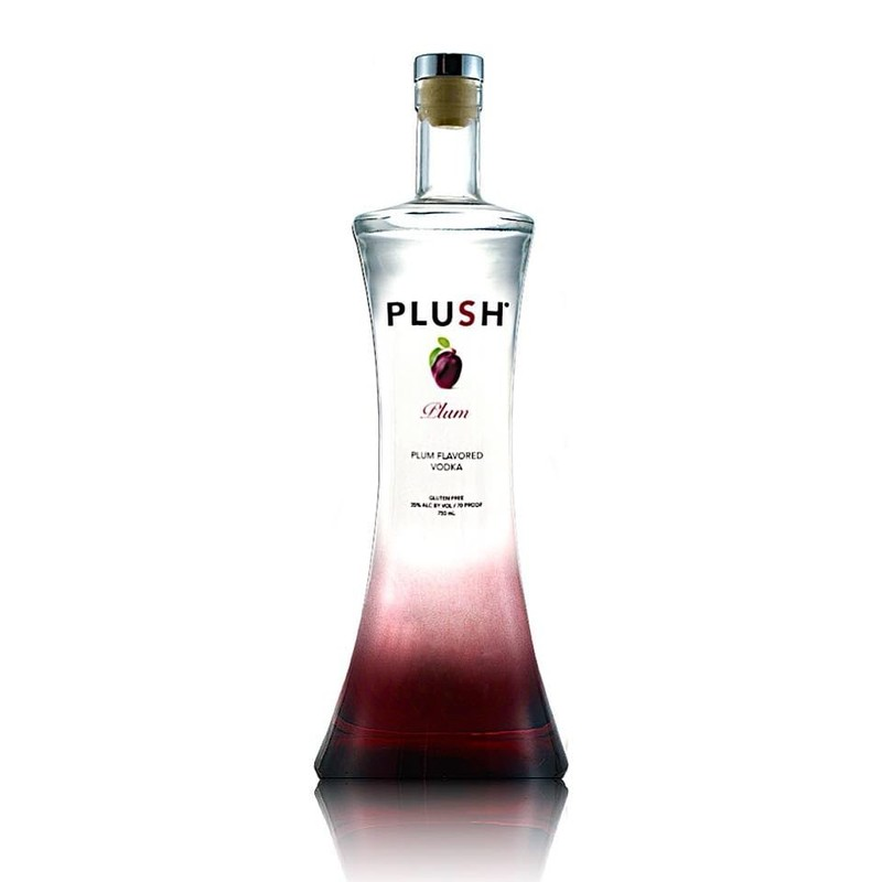 PLUSH PLUM VODKA 750ML