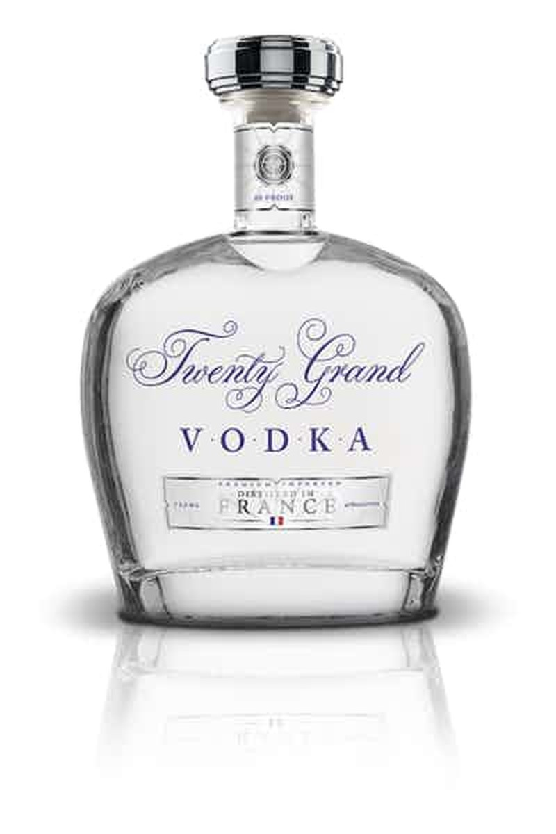 TWENTY GRAND VODKA 750ML