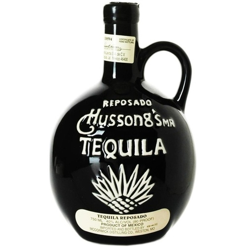 HUSSONG'S TEQUILA REPOSADO 750ML