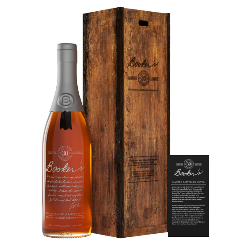 BOOKER'S 30 ANNIVERSARY BOURBON LIMITED EDITION 750ML