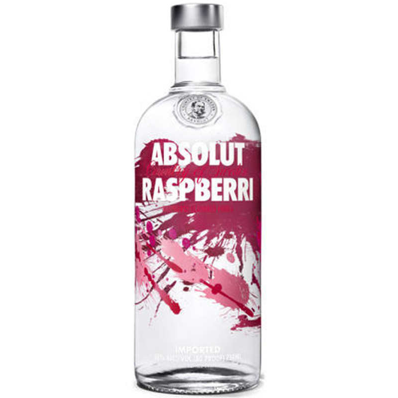 ABSOLUT RASPBERRY 750ML