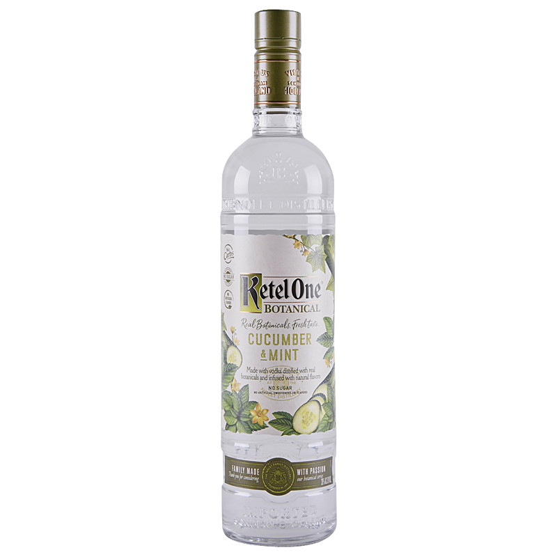 KETEL ONE BOTANICAL CUCUMBER & MINT 750ML
