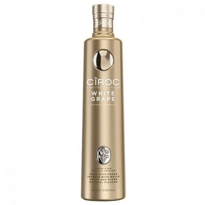 CIROC WHITE GRAPE 750ML