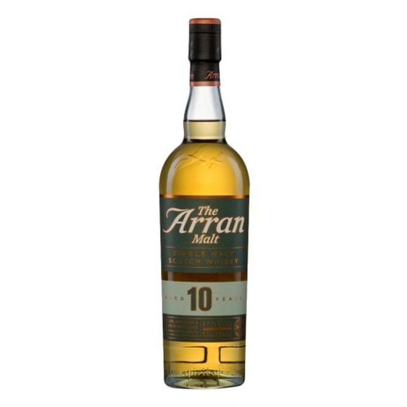 THE ARRAN 10 YEAR OLD 750ML