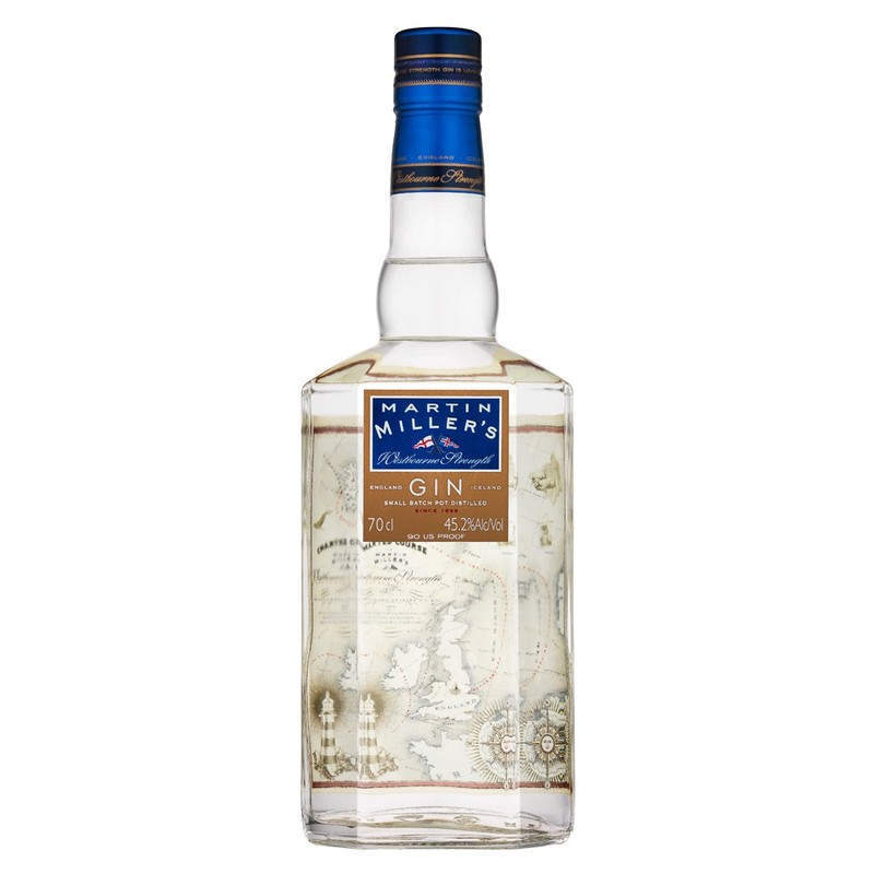 MARTIN MILLER'S WESTBOURNE DRY GIN 750ML