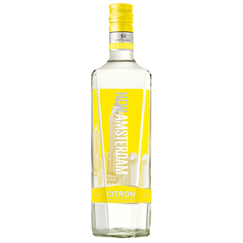 NEW AMSTERDAM VODKA FLV CITRON 750ml