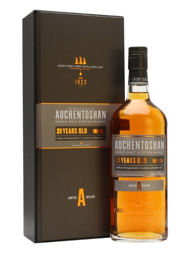 AUCHENTOSHAN  21 YEARS OLD 750ML