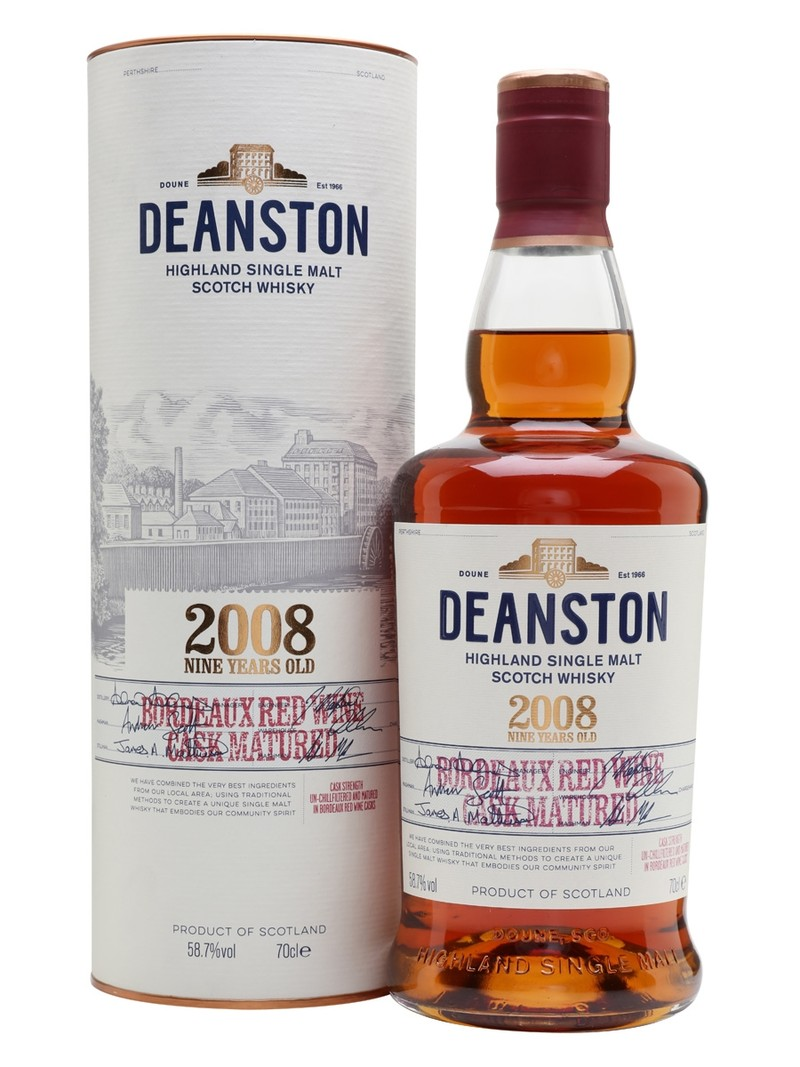DEANSTON 2008 NINE YEARS OLD 750ML