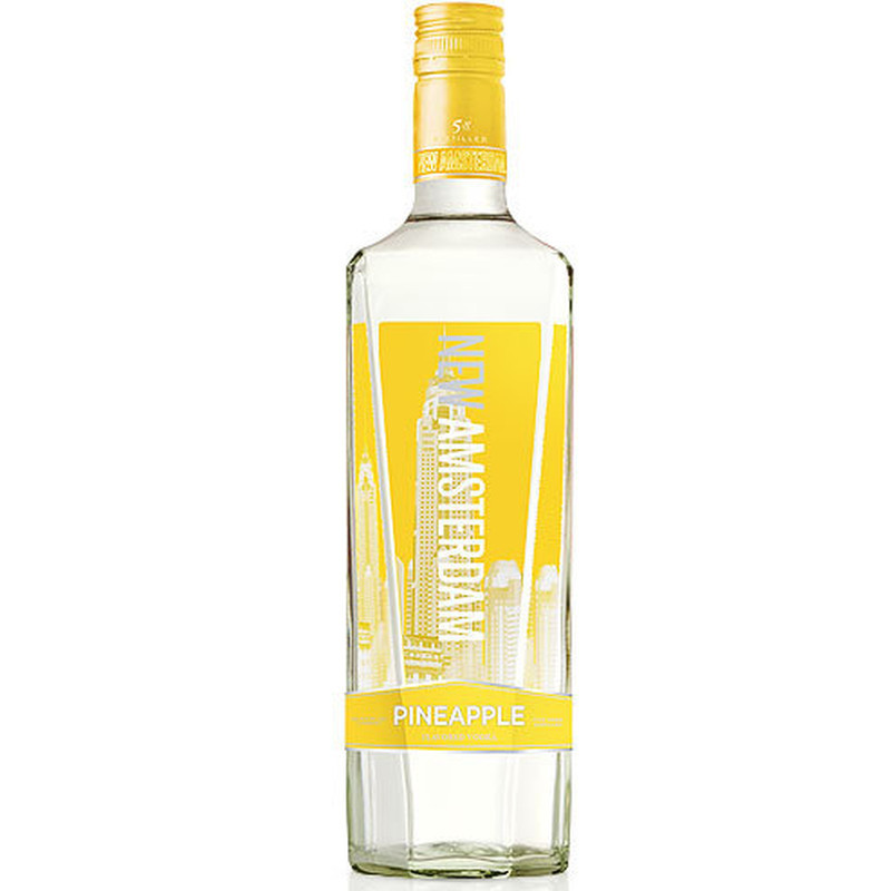 NEW AMSTERDAM VODKA FLV PINEAPPLE 750ml