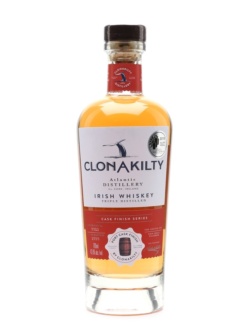 CLONAKILTY IRISH WHISKY PORT CASH FINISH 750ML
