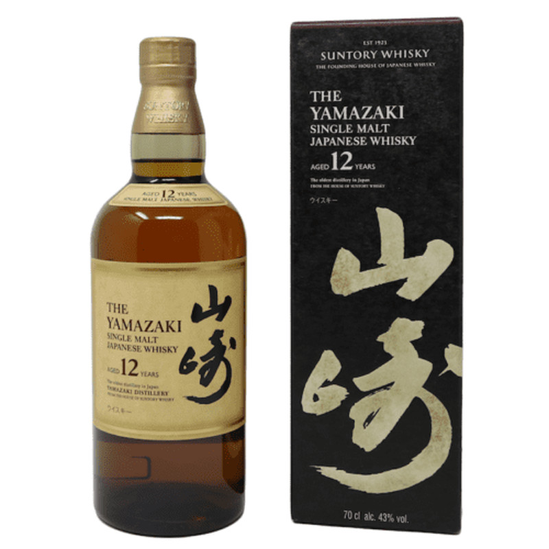 THE YAMAZAKI 12 YEARS 750ML
