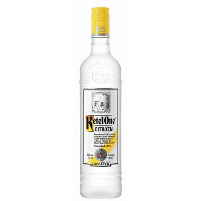 KETEL ONE CITROEN 750ML