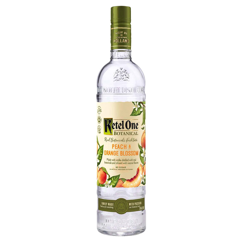 KETEL ONE BOTANICAL PEACH & ORANGE BLOSSOM 750ML