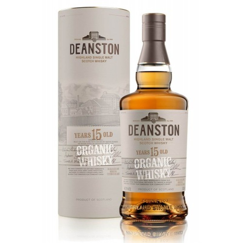 DEANSTON 15 YEARS ORGANIC WHISKY 750ML