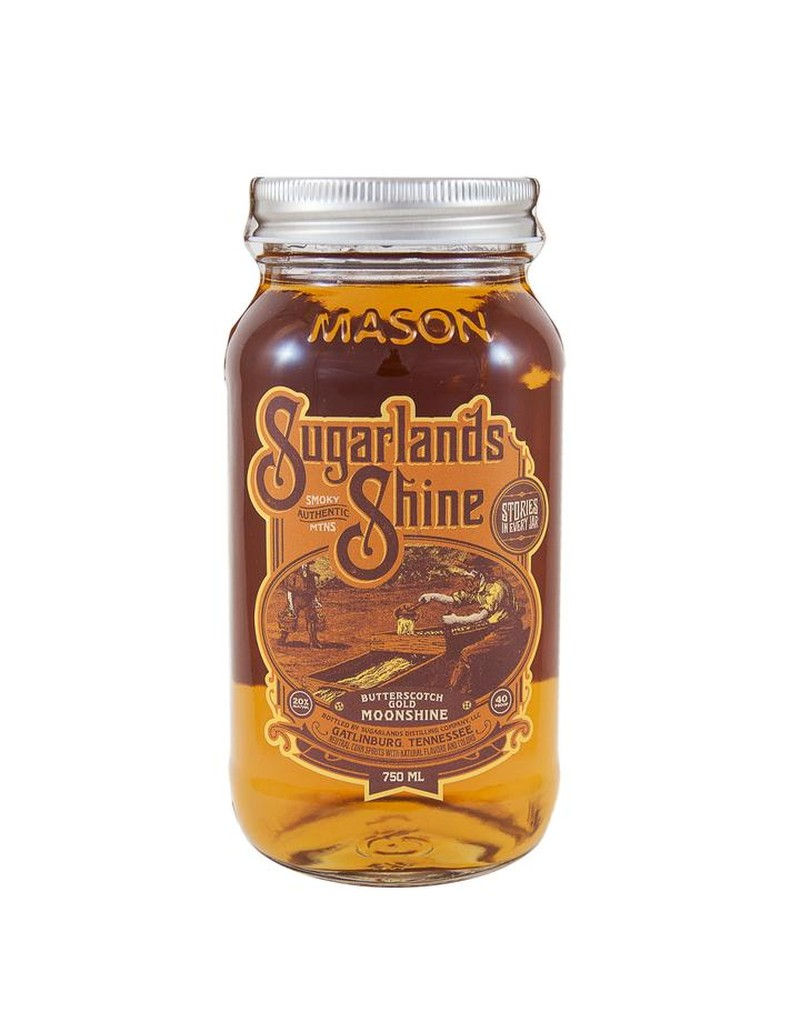 SUGARLANDS SHINE BUTTERSCOTCH GOLD MOONSHINE 750ML