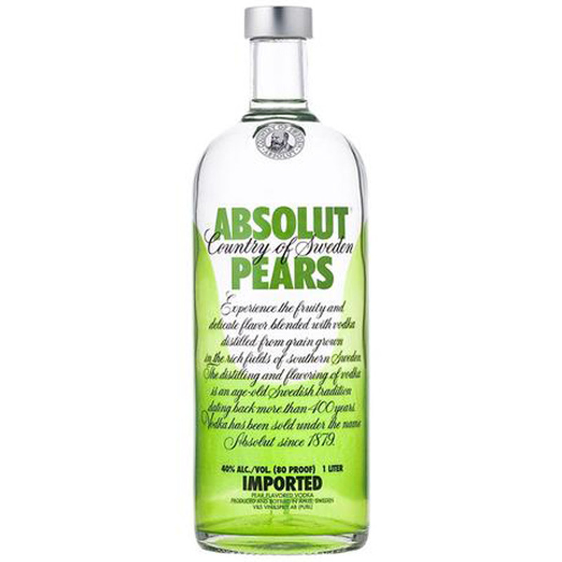 ABSOLUT PEARS 750ML