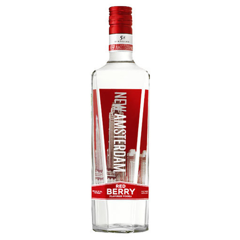 NEW AMSTERDAM VODKA FLV RED BERRY 750ml