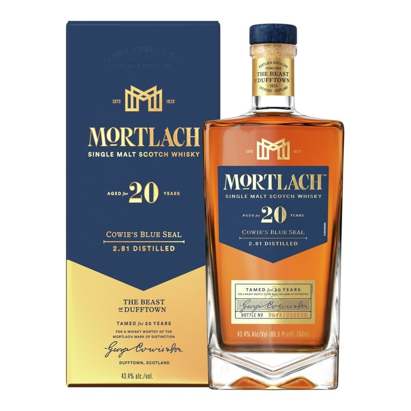 MORTLACH 20 YEARS 750ML