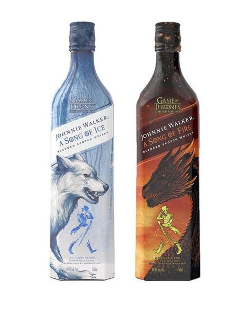 JOHNNIE WALKER A SONG OF ICE AND A SONG OF FIRE 750ML